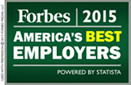 2015 Forbe's america's best employers
